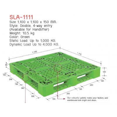 พาเลทพลาสติก SLA-1111